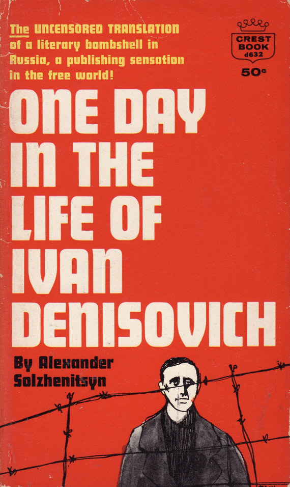 an analysis of ivan denisovich shukhov in a russian siberian prison for expression of anti stalinist Free essay: ivan denisovich shukhov the wind whistles by as he steps out on the snow it crunches beneath his feet one day in the life of ivan denisovich describes the daily routine that ivan denisovich shukhov, an inmate in a labor camp, goes through for eight years to fulfill his sentence.