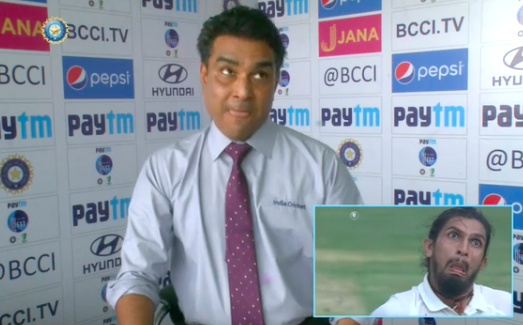 Sanjay Manjrekar came the closest as far as accurate re-enactments went.