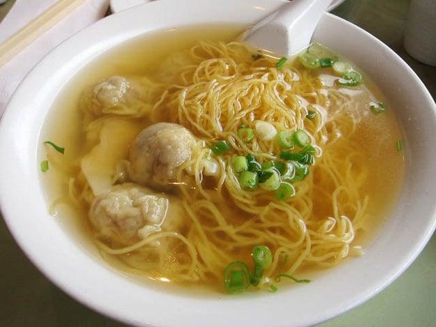 Wonton noodles – Hong Kong