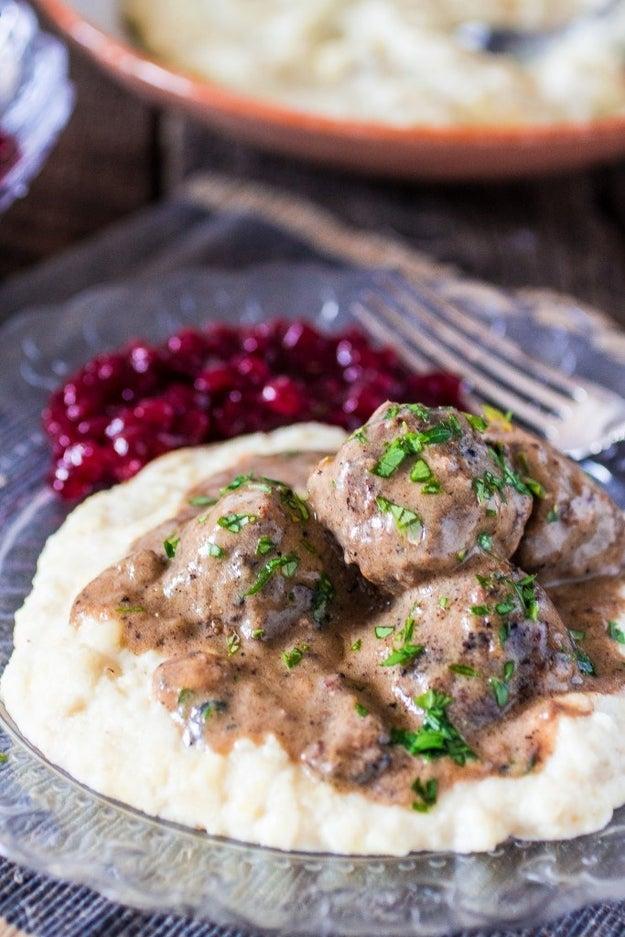 Swedish Meatballs