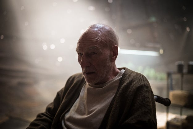 The look of that water tank is important. This weekend at WonderCon, Logan production designer Francois Audouy explained how they included a sweet, extremely sad nod to Professor X's past using it.