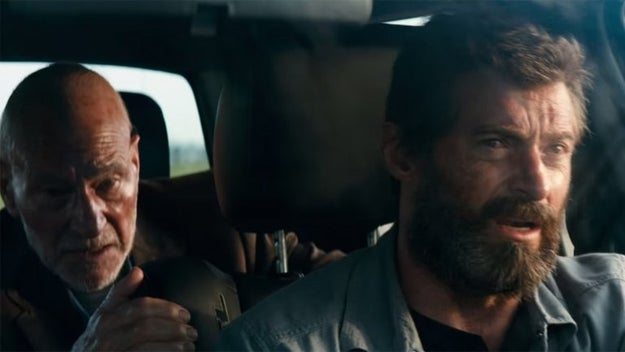 If you've seen Logan, you know it has a very different feel from past X-Men movies. It's gritty and dark and extremely violent — but it still reunites our two faves, Logan and Professor Charles Xavier.