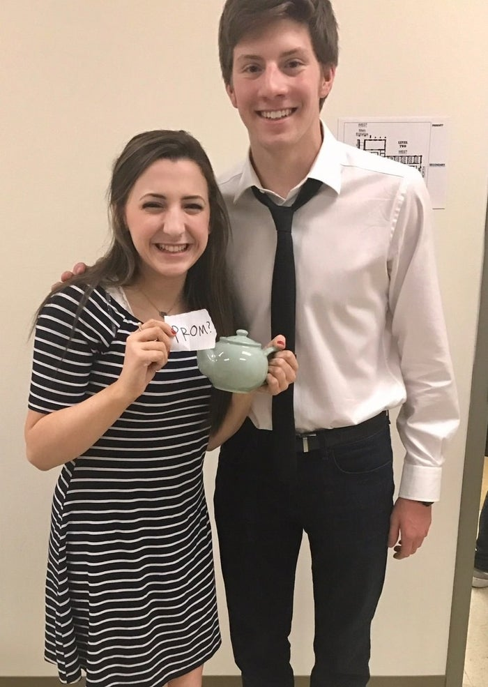 For the uninitiated, in a Season 2 episode of The Office, during a round of Secret Santa, Jim got Pam a teapot filled with a bunch of their inside jokes and a letter finally revealing his true feelings.