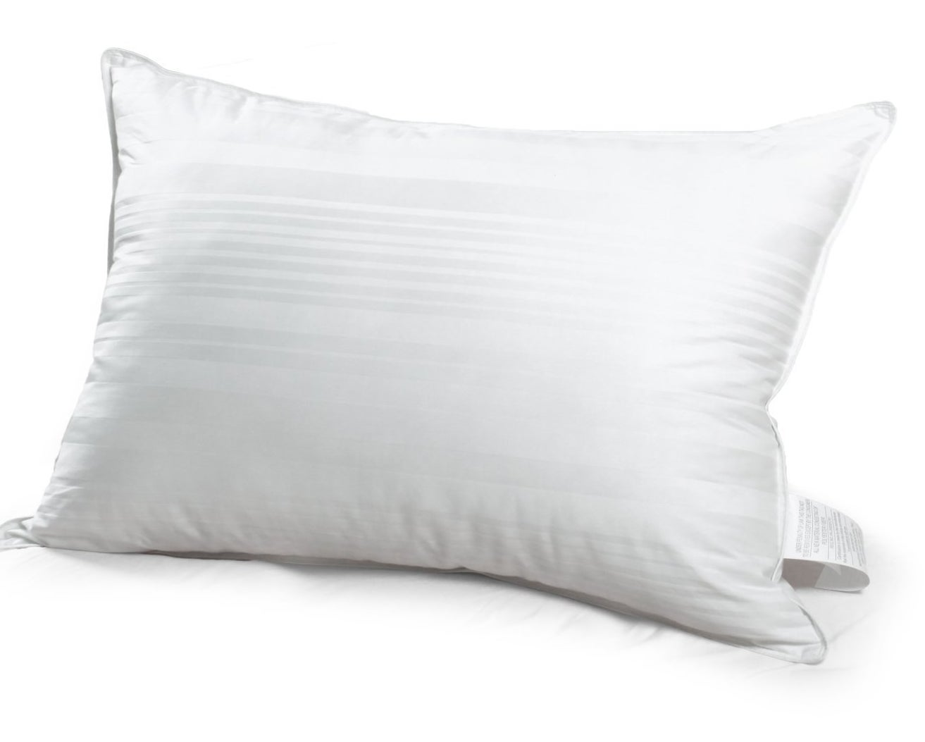 "Promising review: ""For being so inexpensive, these pillows are really comfortable! If you like firm pillows, these aren't for you; these are super soft. They also don't feel cheap at all! I loved them and ordered more."" —Felix GoldPrice: $3.56"