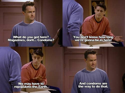 Here Are 42 Of The All-Time Best Chandler Bing One-Liners