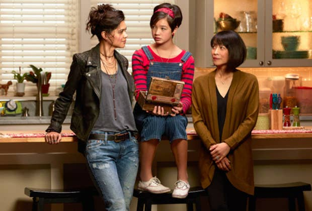 The plot: On her thirteenth birthday, Andi Mack (Peyton Elizabeth Lee) finds out her older sister, Bex (Lilan Bowden), is actually her mother. First of all, DRAMA! Second of all, this means that Bex was a pregnant teen, which has made her relationship with her mother (Lauren Tom) quite strained. This is a pretty big deal for Disney. Additionally, once the big reveal happens, the rest of the show deals with how Andi and her family adjust to their new roles, a tricky and complicated story that is difficult for any TV show to tackle, let alone one on a kids' network.