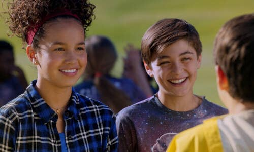 """Rejoice! Finding a live-action Disney Channel show in the past decade that isn't a multi-cam sitcom with cringeworthy laugh tracks and over-the-top jokes is tough task. But Andi Mack makes it easier. Without the constant laugh track to yell, """"THIS IS FUNNY!"""" at its viewers, the single-cam format allows both the jokes and the emotional moments to land better, and the characters are more relatable and natural."""