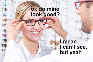 how to look good when you wear glasses