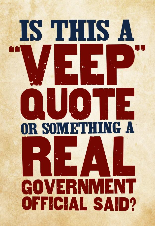 Veep quotes
