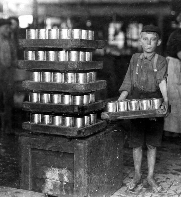 23 Disturbing Pictures From The Days When Child Labor Was