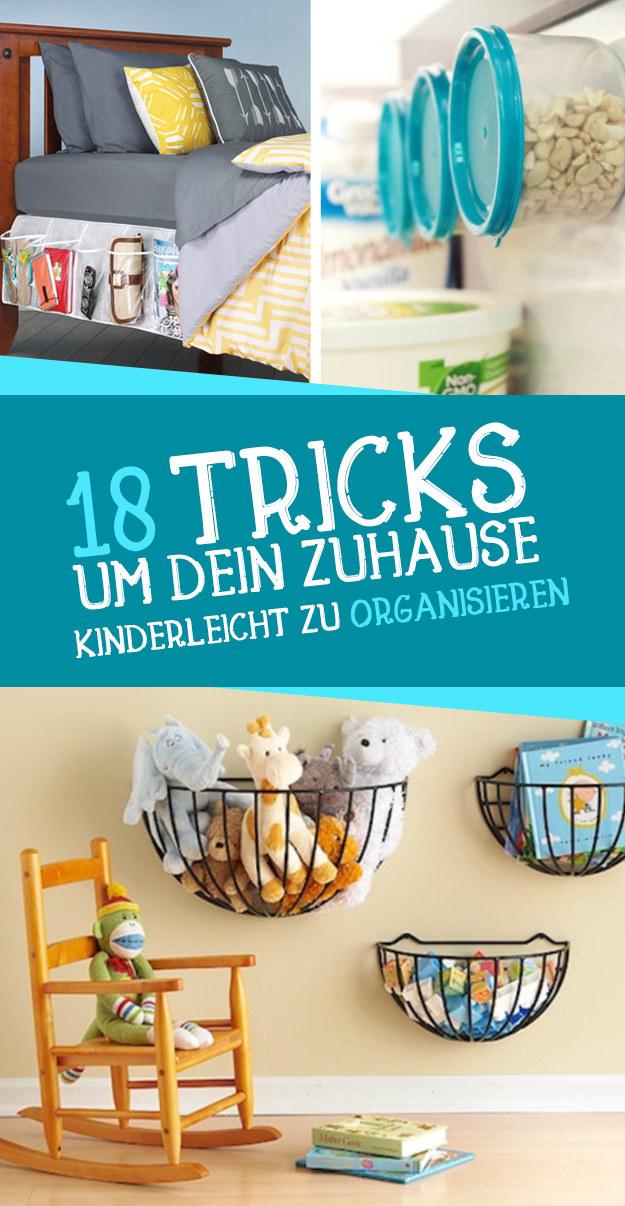 18 tricks um dein zuhause kinderleicht zu organisieren. Black Bedroom Furniture Sets. Home Design Ideas