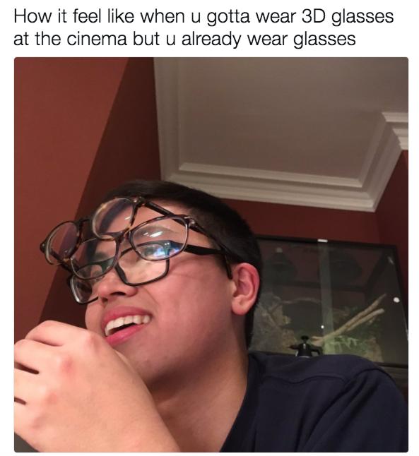 Image result for meme glasses watch 3d