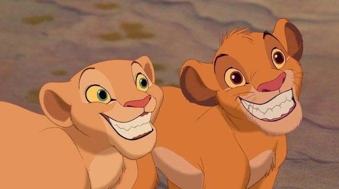 Hasta cuando eres un león.