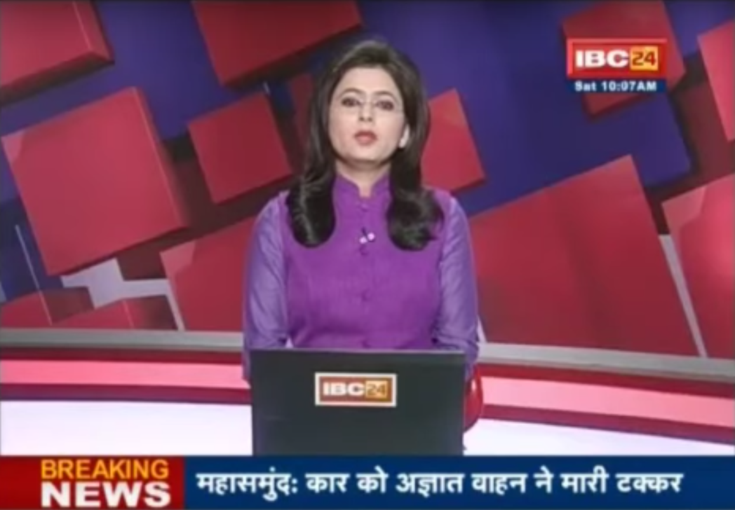 """IBC24 salutes Kaur's courage and attitude,"" another IBC24 anchor said."