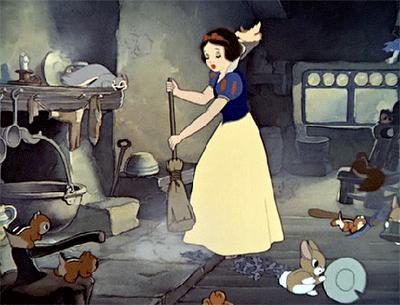 ¿Qué piensas hacer con ese polvo, Blancanieves?