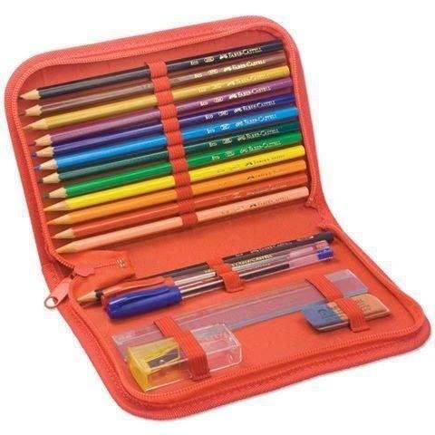 Quem nunca levou a borracha ou o lápis solto por pressa, só para sair mais rápido da sala de aula?