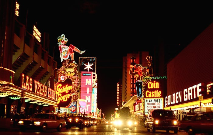 More interested in a weekend of gambling, martinis, and staying at hotels with names that sound like European cities? Book a one-way ticket to sin city with bitcoin via Cheap Air.