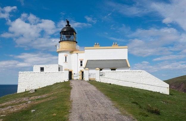 Stoer Head Lighthouse, Assynt, Sutherland.