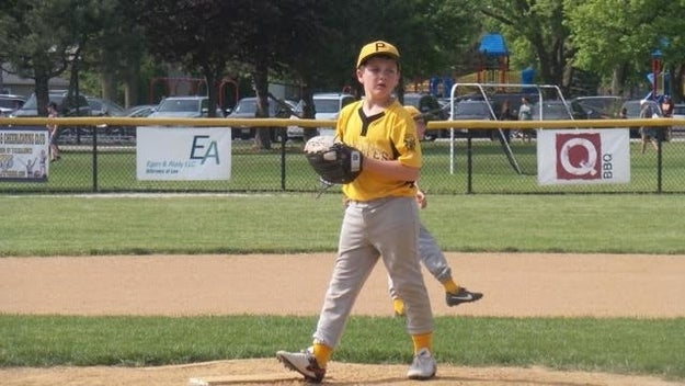 Vaughn Guilfoile is a 10-year-old from Illinois who comes from a long line of baseball aficionados.