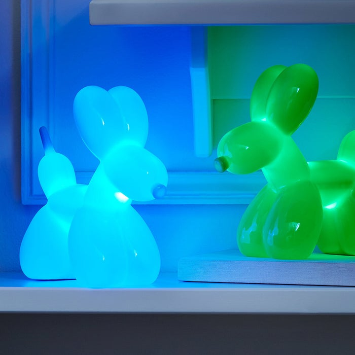 """Promising review: """"This is the third balloon dog nightlight I've purchased — one for each of my grandsons and my niece. They are so cheerful and fun that I want one for myself!"""" —P-Funk Price: $25"""