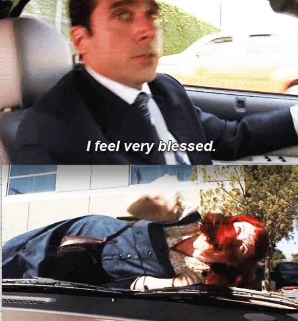 michael scott office meredith hit worst times character characters he memes quotes than way buzzfeed having worse nbc occasionally visit