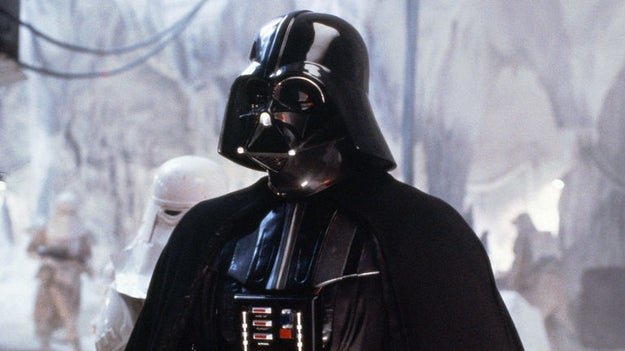 "The iconic ""Imperial March"" (also known as Darth Vader's theme) is never actually heard in A New Hope."