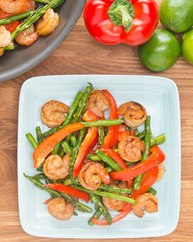 Under 300 Calorie Honey Lime Shrimp Recipe By Tasty: This Under 300-Calorie Honey Lime Shrimp Is Perfect For Summer