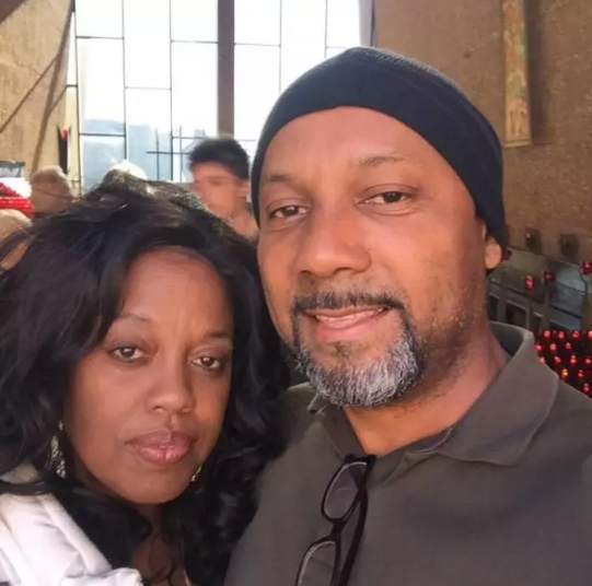Cedric Anderson and his wife, Karen Smith.