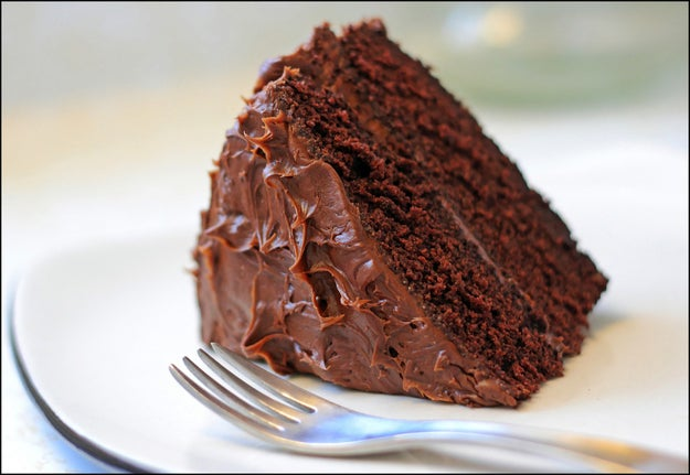 """In what has been described as a """"giddy"""" and """"gleeful"""" exchange with a Fox Business anchor, President Trump revealed Wednesday that he was eating """"the most beautiful piece of chocolate cake you've ever seen"""" while US forces bombed Syria."""