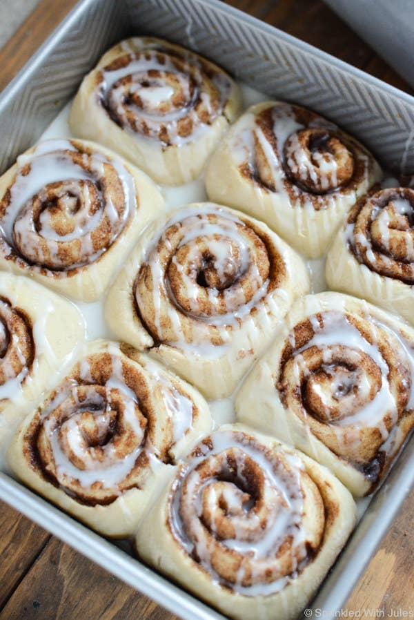 Make these for dessert...then keep some leftovers for tomorrow's breakfast. Get the recipe.