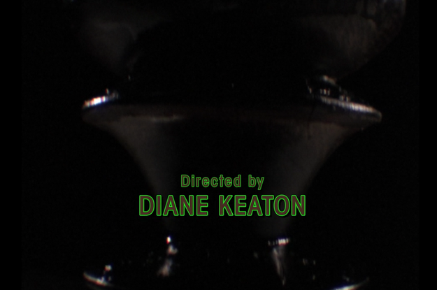 And Diane Keaton directed an episode.