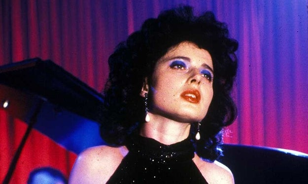 Blue Velvet star (and David Lynch's former girlfriend) Isabella Rossellini was supposed to play the role of Josie Packard.