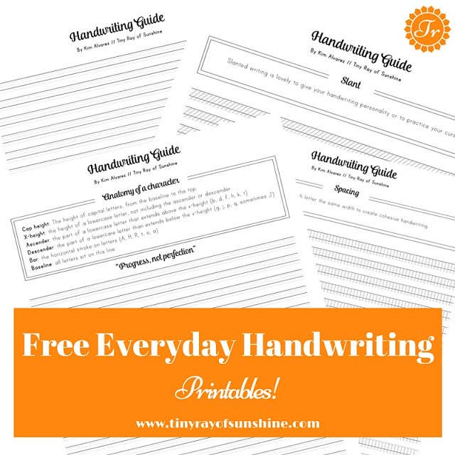 14 Simple Ways To Actually Improve Your Handwriting – Improve Handwriting Worksheets