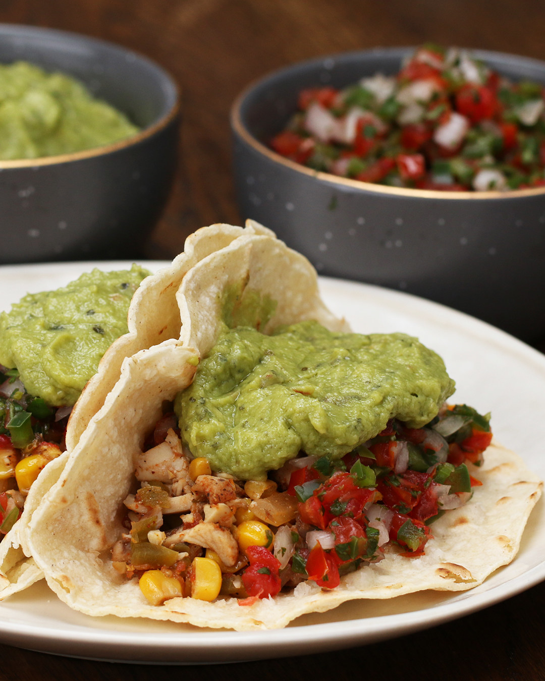Try These Slow-Cooker Chicken Tacos For Your Next Taco Tuesday