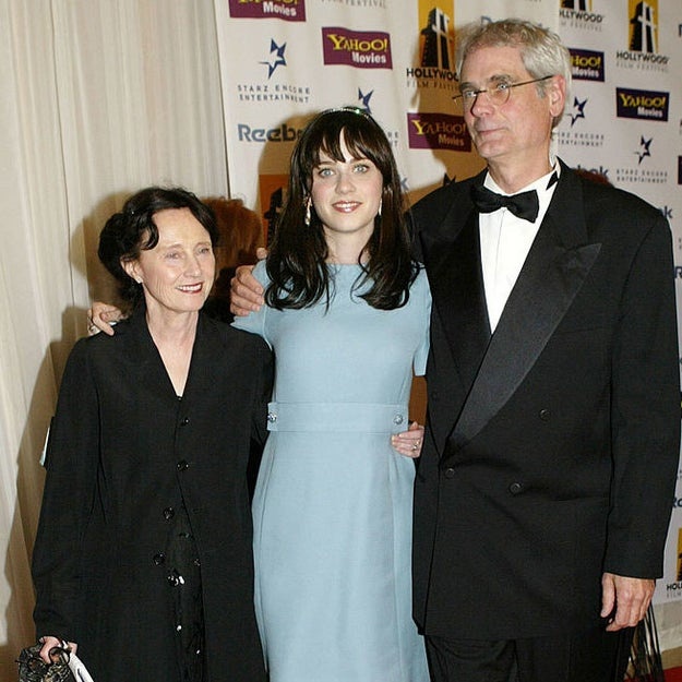 In fact, Zooey often visited the set, but she wasn't allowed to watch the show.