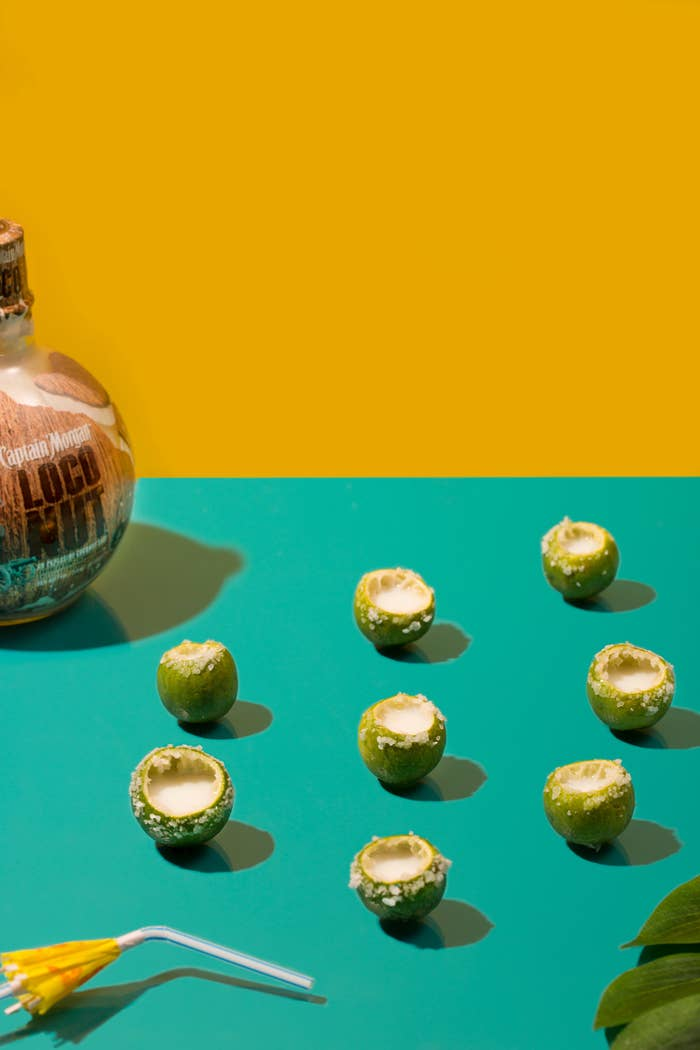 What you'll need:* Key limes * Salt (for rim)Turn these lil' limes into tangy shooters. Don't forget the salt rim!