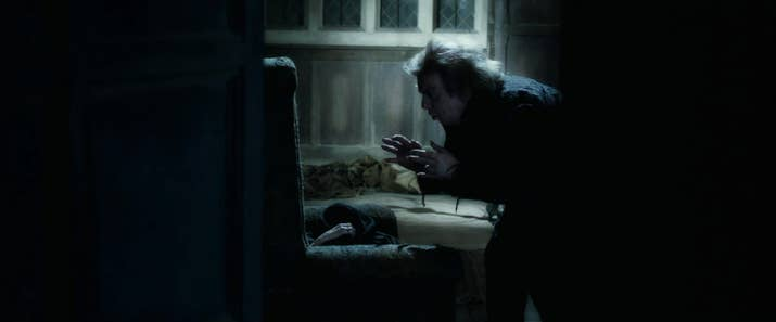 little details from harry potter that ll totally blow your mind when the gardener frank bryce eavesdrops on voldemort in the riddle house at the beginning of