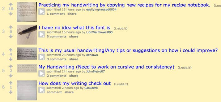 Check Out The Handwriting Subreddit For A Ton Of Answers To Common Questions