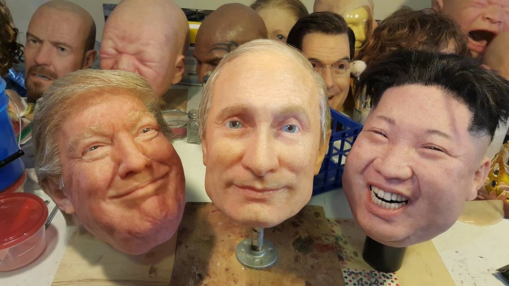These Masks Of Trump Putin And Kim Jong Un Will Haunt Your Dreams