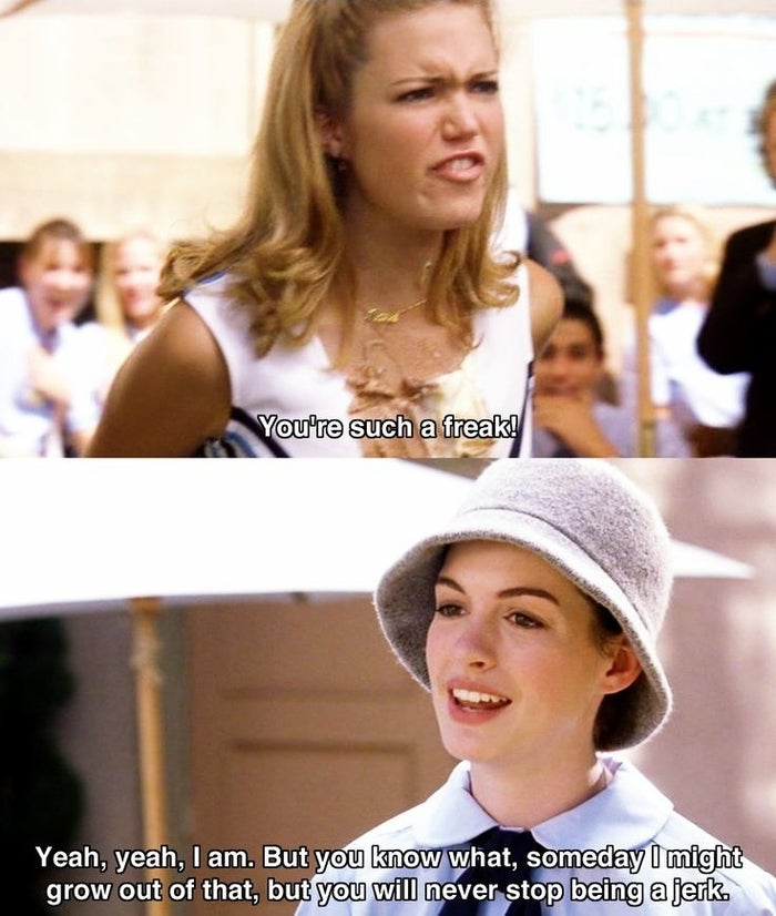 """Lana got coned! Lana got coned!"""