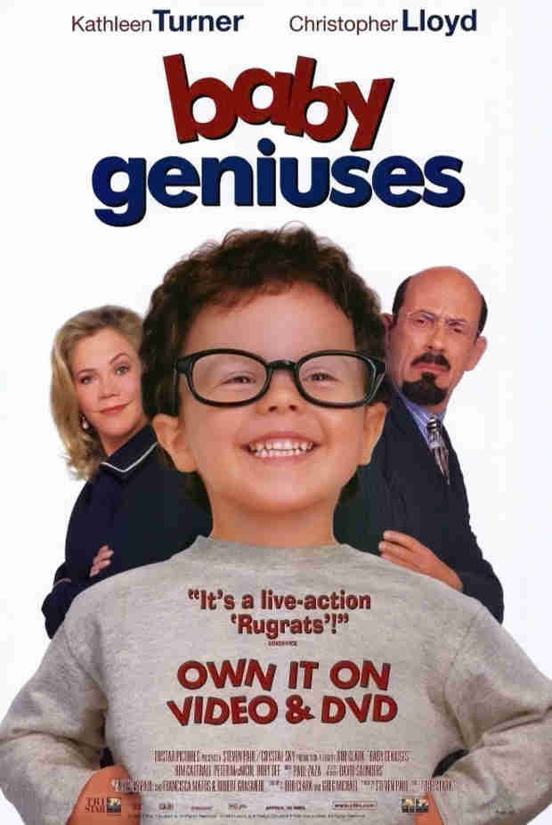 In 1999, we were introduced to Baby Geniuses and honestly our world hasn't been the same since.