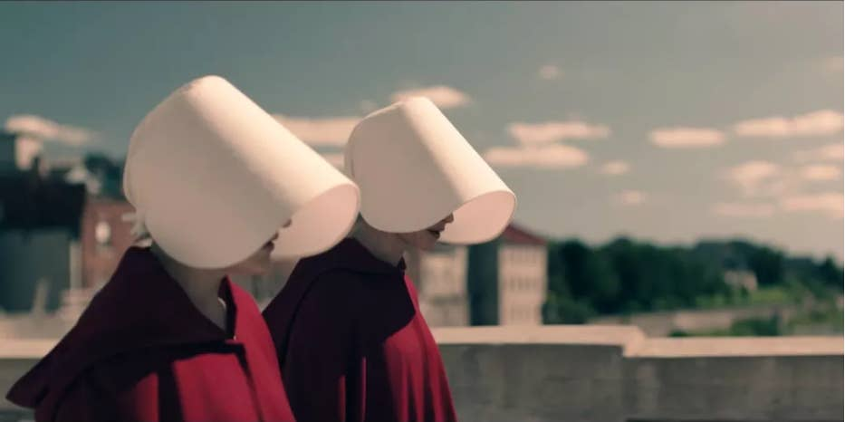 the radical feminist aesthetic of the handmaid s tale share on facebook share