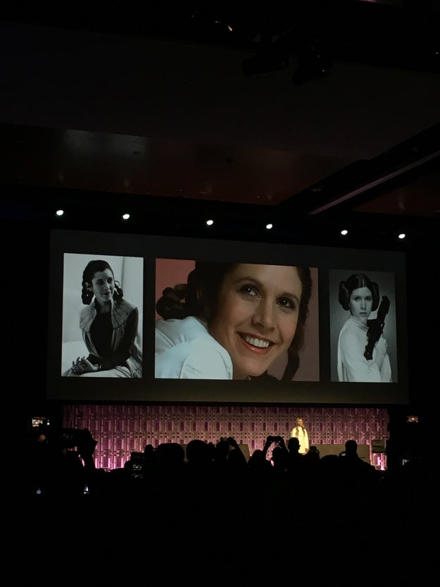 """I learned by knowing her that the the most evolved person is seemingly a contradiction: They're both the strongest and the most vulnerable person in the room. And that was her. That is Leia. Thank you for loving her and carrying on what she stands for. I am beyond grateful,"" Lourd concluded."