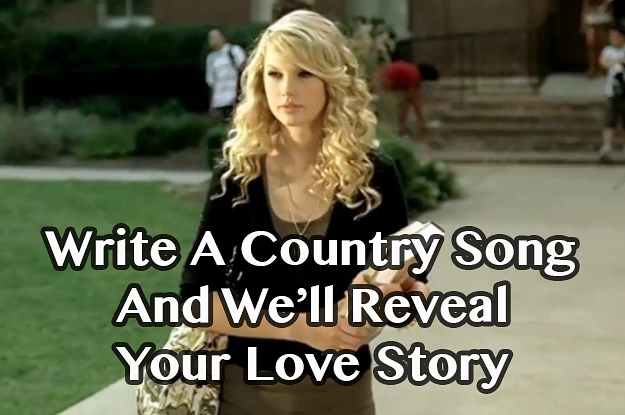 how to write a country song