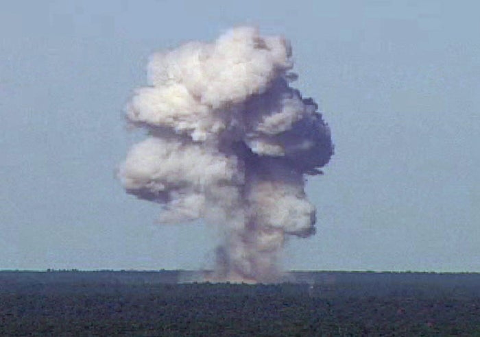 MOAB during a 2003 test