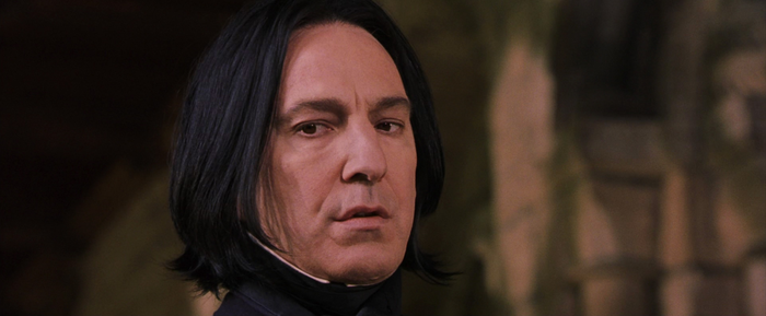 """In the first book, when Harry believes Snape is responsible for trying to steal the Philosopher's Stone, he worries that Snape knows what he, Ron, and Hermione are up to because he has """"the horrible feeling that Snape could read minds"""".Later in the series, we find out that Snape is a skilled Legilimens and can, in fact, read minds.– Tyler Abarca, Facebook"""