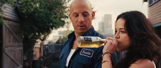 And, as these films always do, The Fate of the Furious ends with the team celebrating their victory at a family dinner.