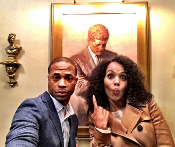 Since Fitz never became president, Olivia Pope & Associates weren't exactly regulars at 1600 Pennsylvania Ave. So, their visit to the White House in this episode was pretty exciting.