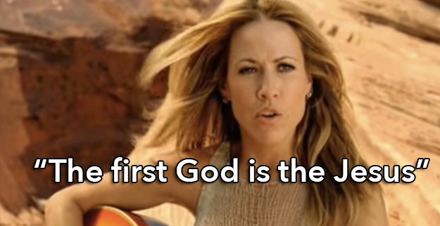 "Sheryl Crow's ""The First Cut Is the Deepest"":"