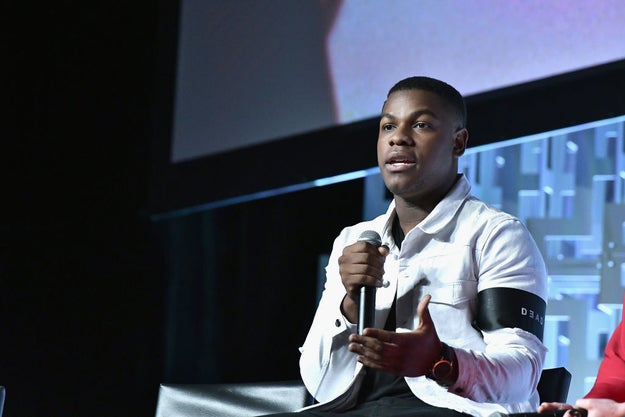 "According to John Boyega, sweet cinnamon roll Finn is ""not playing"" this time around. And he's still deciding where his allegiances lie."